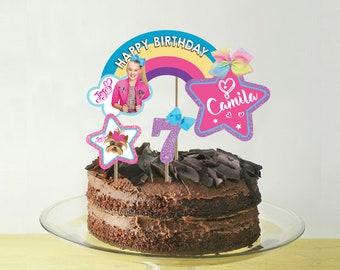 279ab86f905 Jojo siwa cake topper