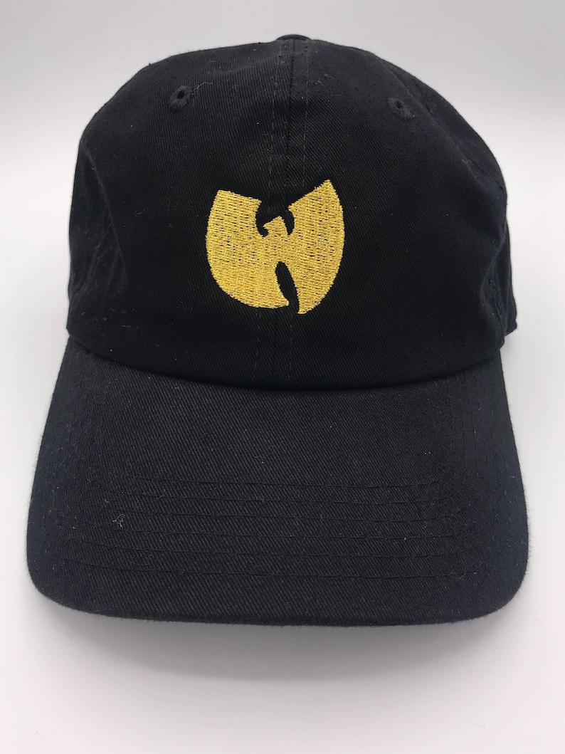 Wu Tang Clan Shiny Logo Dad Cap  e98455a55f9