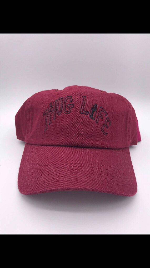 Birthday Gift Embroidered Cap Thug Life 2pac Beanie