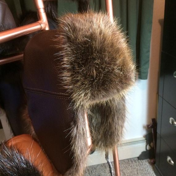 Alaska Beaver Trapper Hat Etsy
