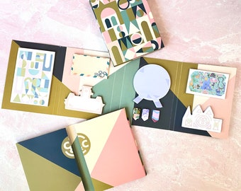 Cute Disney inspired stationery sticky notes mickey designs