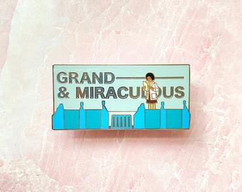 Epcot Spaceship earth ride quote inspired enamel pin disney world lapel pin