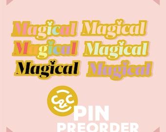 PREORDER Magical disney inspired hard enamel pin