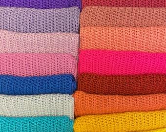 Infinity scarf multicolor all year winter gifts warm snug loop scarf