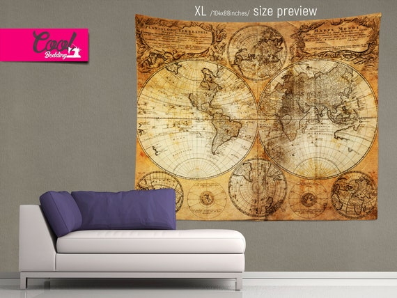 World Map Tapestry, Ancient Map Wall Hanging, Wall Tapestries by Cool on world map tapestry urban outfitters, world map paintings, world map dresses, world map bedroom decor, world map blankets, world map patterns, world map canvas, world map mirrors, world map souvenirs, world map pillows, world map t-shirts, world map watercolors, world map calligraphy, world map wallpaper, world map photography, world map vases, world map drawings, world map tiles, world map gold, world map scarves,