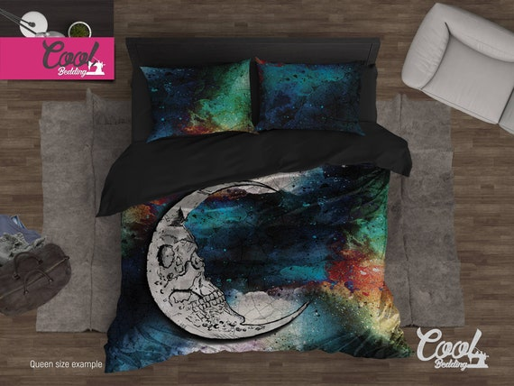 TATTOOED SKULL LIVE FAST DAY OF THE DEAD DOD DUVET DONAH COVER PILLOW CUSHION