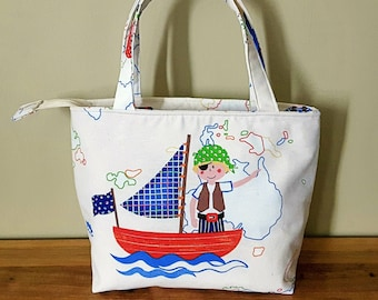 Pirate - Insulated Lunch Bag Large