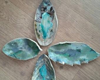 Fallen leaves. Handmade
