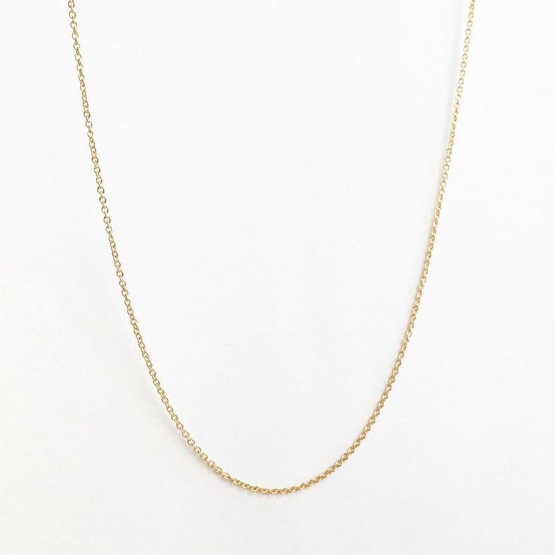 DAINTY chain Necklace  Wholesale Gold plated Chain Finished image 0