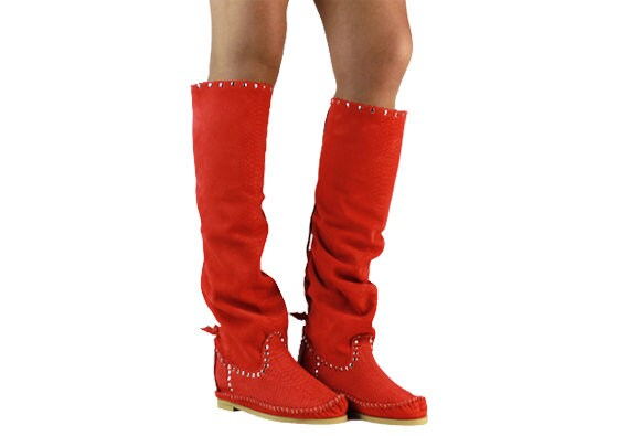 suede in Shoes size texture boots coral snake dressing 40 last Hippi Boots a WOMENS orthopedic pair EU The Stok HANDMADE boots Shoes suede w7XTqnA