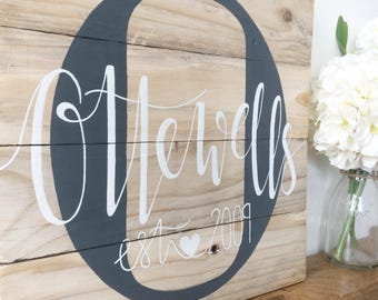 Personalised Name Sign