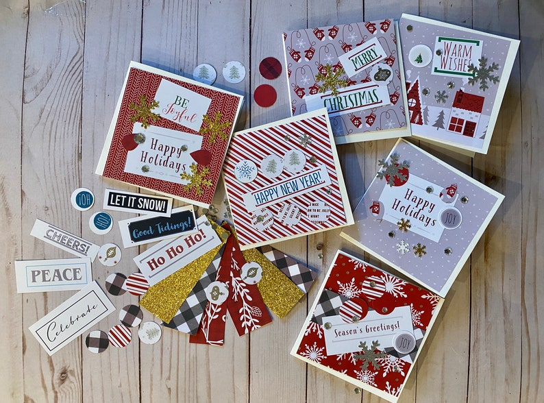 Cozy Holiday Card Kit image 0