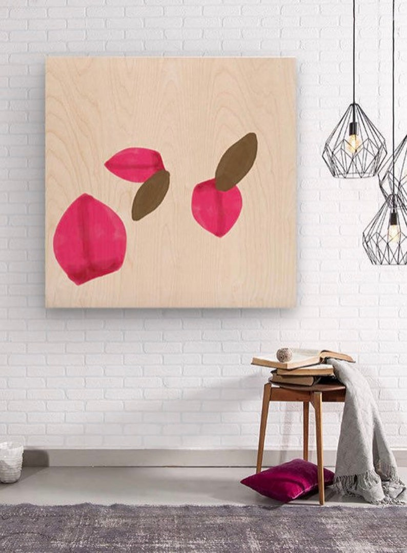 Limited Edition Wall Art on Wood Original Art by Sarah Butcher image 0