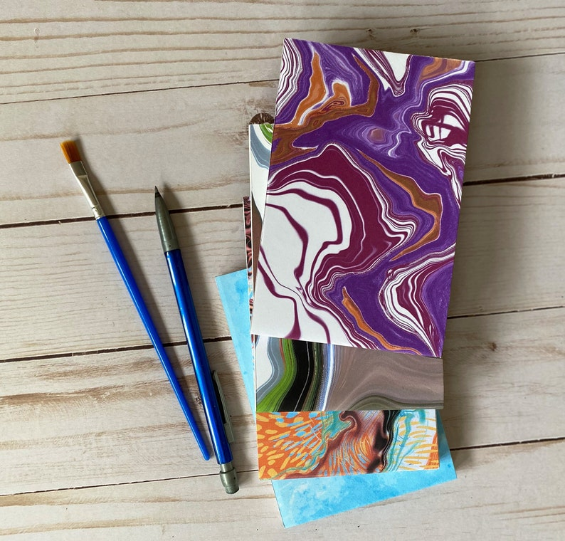 MINI WATERCOLOR JOURNALS Handcrafted travel sketch and paint image 0