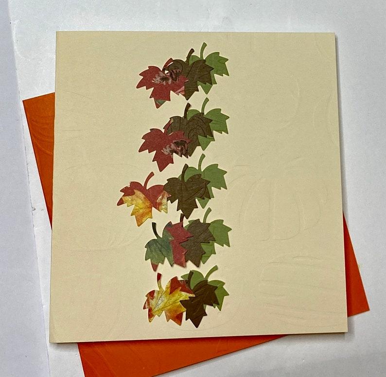 DIY Autumn /Thanksgiving Card Kit image 0