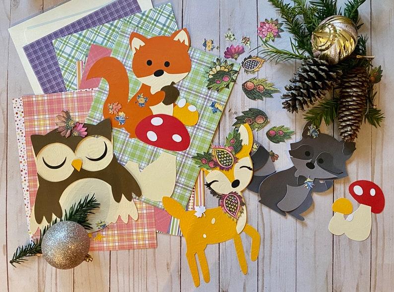 Wall Art Kit Nursery Kids room art Babys Room DIY home image 0