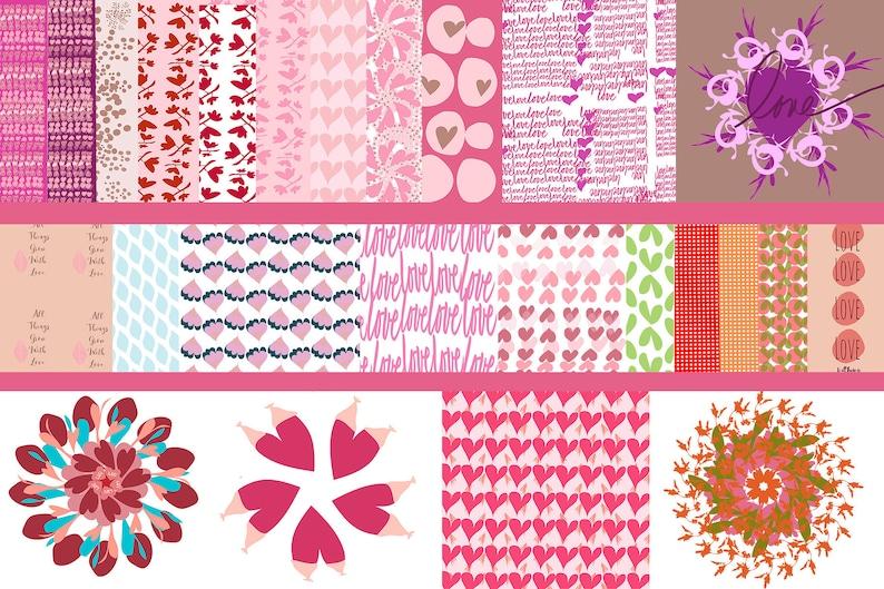 Printable Art Digital Download Valentine's Day Decor DIY image 0