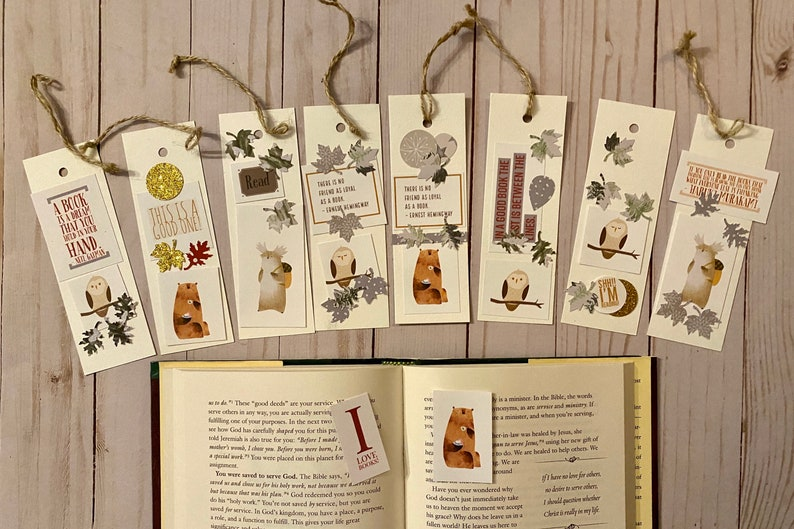 Forest Friends Bookmark Kit image 0
