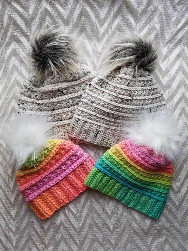 Atlas Beanie Pattern Crochet Hat Pattern Crochet Beanie  d35485e2b302