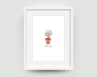 Art Print The Tree of Life