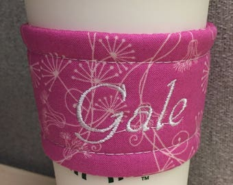 Personalized Coffee Cup Sleeve