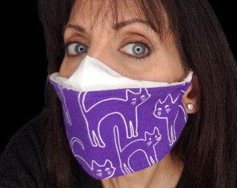 Breathable 3D Origami Face Mask