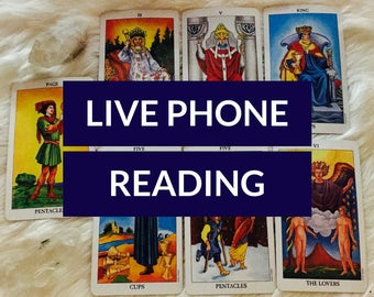 20 Minutes - Ask Any Questions: 20 Minute Tarot Reading via Phone or Facebook Messenger, Professional Psychic, Great Reviews, Truste