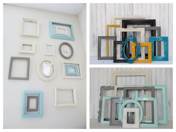 Picture Frame Set Made to Order Custom Painted Frames   Etsy