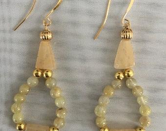 Citrine Gemstone Earrings