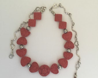 Cinnabar Heart Necklace
