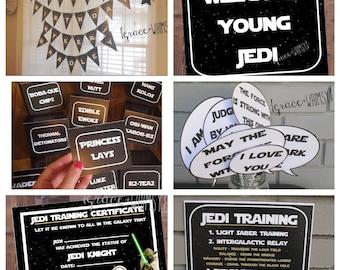 Star Wars party bundle {digital/printable}