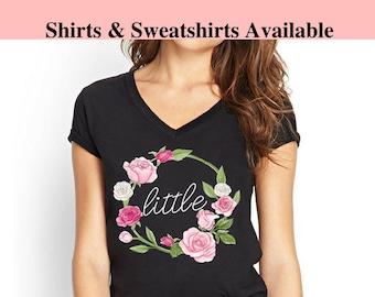 Big Little Shirts Sorority, Sorority Shirts Big and Little, Big Little Shirts Reveal, Big Little Reveal Shirts Sorority, Big Little Sorority