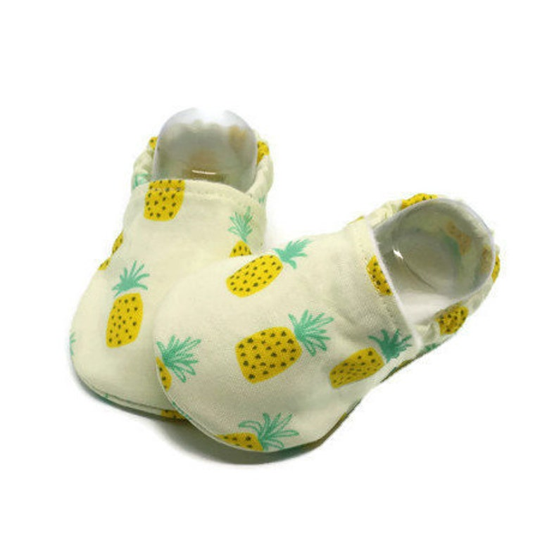 6cbc9055a2e01b Pineapple baby girl Pineapple baby shoes Pineapple baby