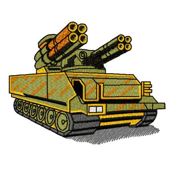 War Military Tank Machine Embroidery Design Instant Download Etsy