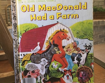 Vintage Little Golden Book | Old MacDonald Had a Farm | Copyright 1975 | Printed in the USA