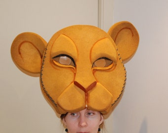 Nala Headdress, Sarabi Mask, Foam Masks, Musical, Adult Nala