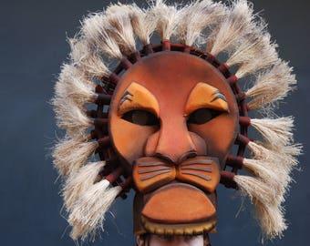17753b99ec3 Mufasa, Máscara de leon, Musicals, Disfraz de León
