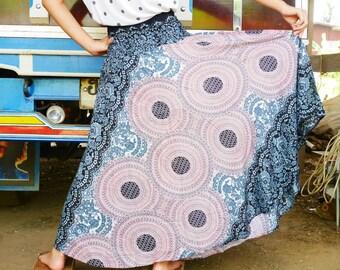 Gypsy skirt  Maxi skirt Long skirt Boho skirt Hippie skirt Elephant skirt Harem skirt
