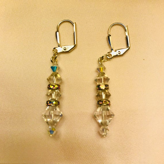 Classic Swarovski Crystal Dangle Earrings