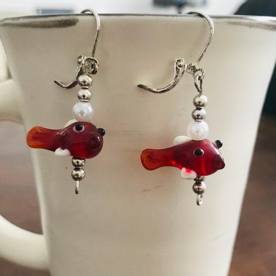 Go Fish Earrings