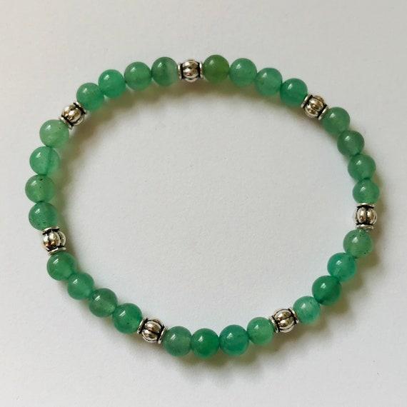 Awesome Aventurine Stretch Bracelet