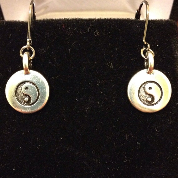The Yin Yang Dangle Earrings