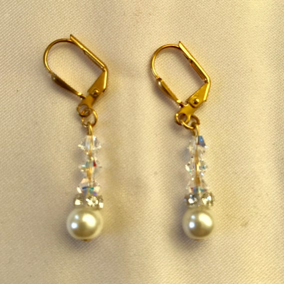 Wear Me to the Wedding Bridal Swarovski Crystal Earrings