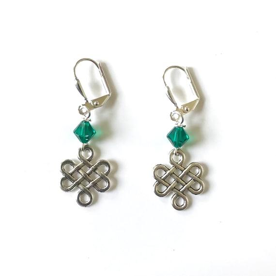 Erin's Celtic Knot Dangle Earrings