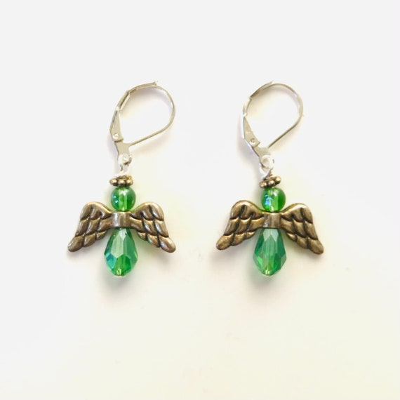Celtic Angel Earrings