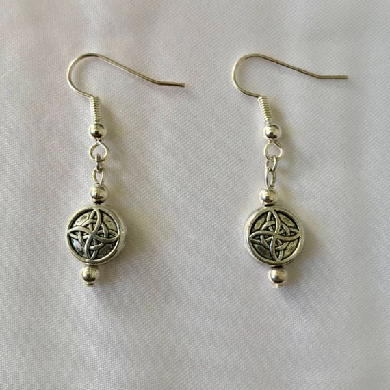 Colleen's Dangling Celtic Knot Earrings