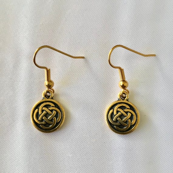 Classic Celtic Knot Earrings