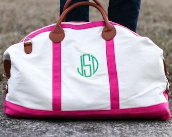 12280c600f7e Pink weekender bag | Etsy