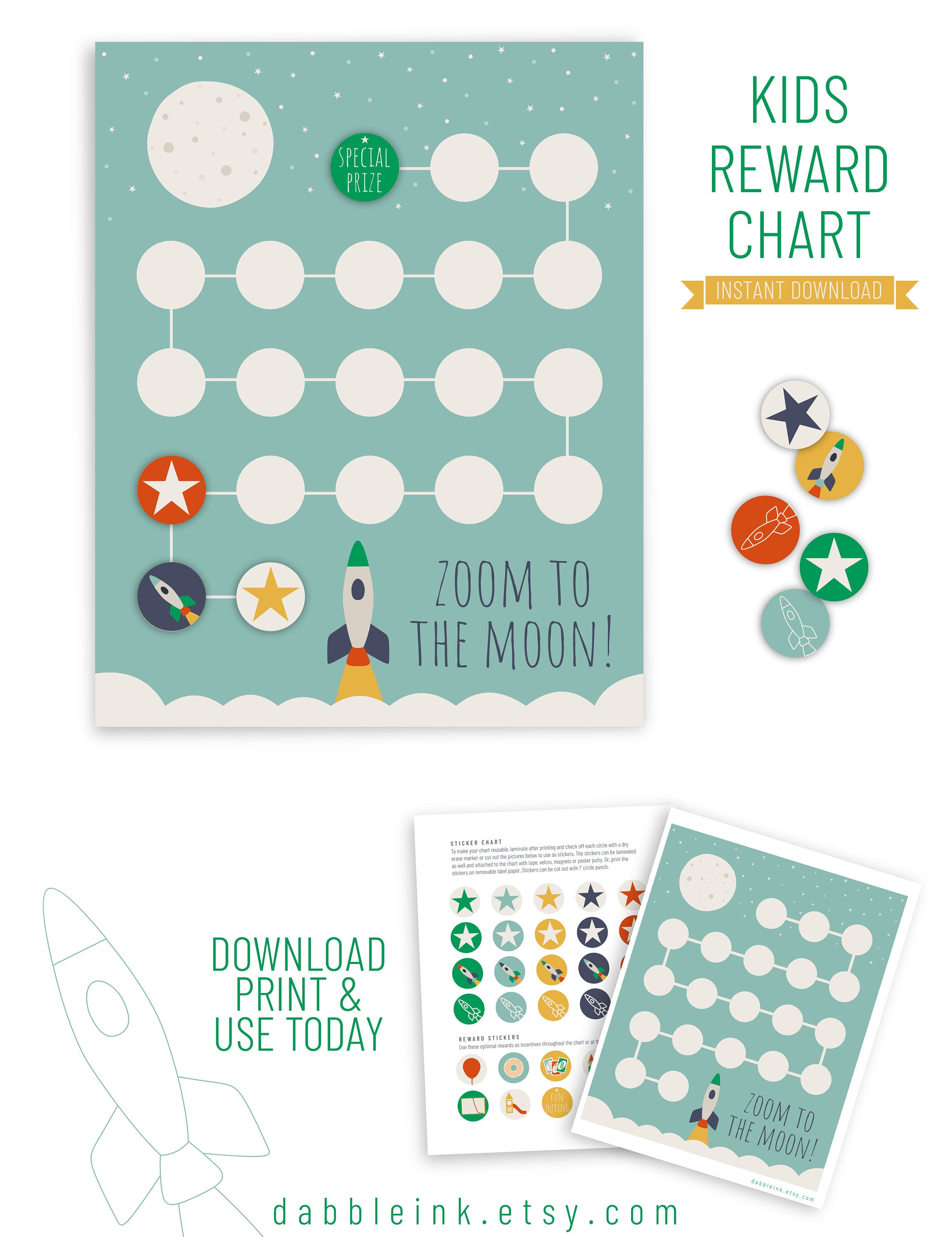 picture about Sticker Reward Chart Printable referred to as Gain Chart Printable I Obtain I Advantage Stickers I Habits Chart I Potty Performing exercises Gain Chart I Gain Chart for Babies