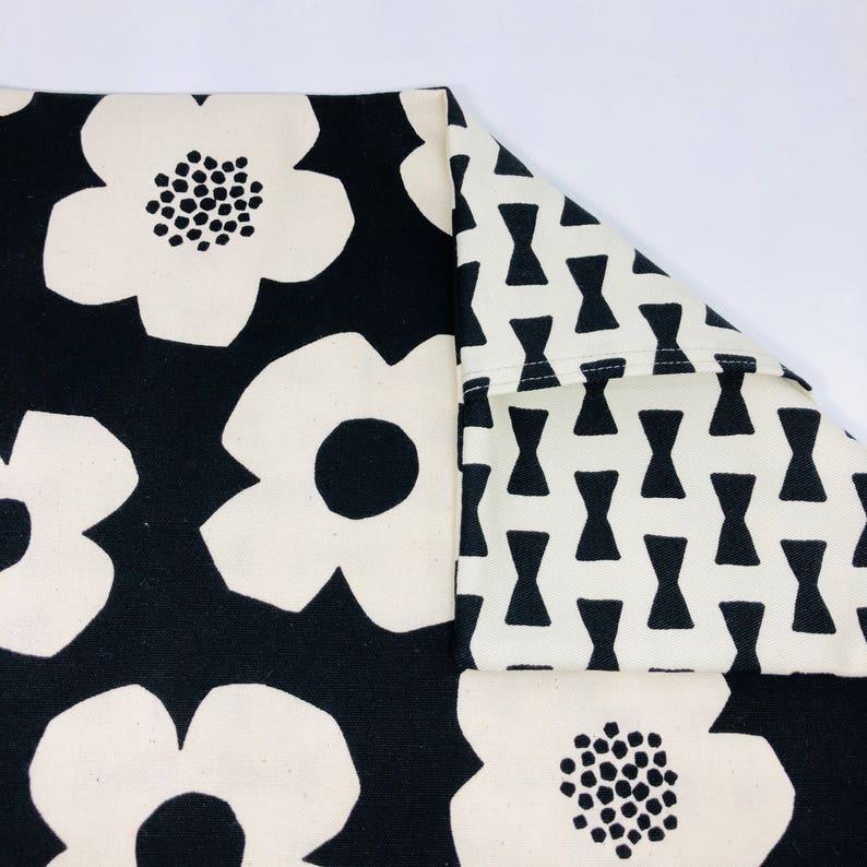 Kokka North European Style Flower Cotton Fabric/_Japan